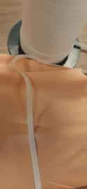 20M witte elastiek 5mm breedte
