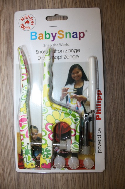 Tang voor kindersnaps   Drukknopen