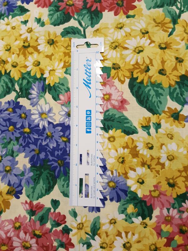 kleuren bloemen stof