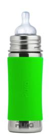 Pura Kiki silicone sleeve lang groen