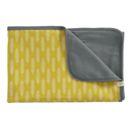 Baby deken Havre vintage yellow