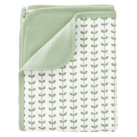 Baby deken Leaves mint