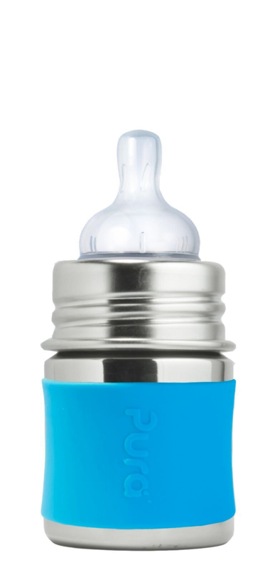 Pura Kiki speenfles 150ml + aqua sleeve