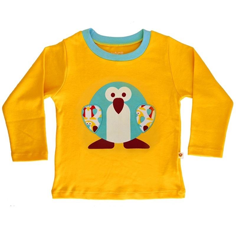 T-Shirt lange mouw Pinguin