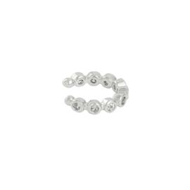 Ear cuff- Dewi 'zilver'