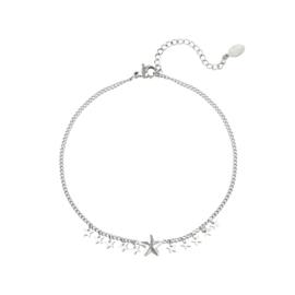 Enkelbandje- Stars 'zilver'