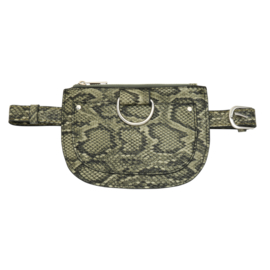 Belt bag- Like a Snake 'groen'