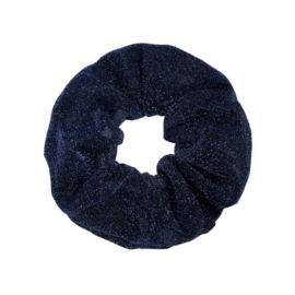 Scrunchie- Glitter 'blauw'