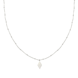 Ketting- Sparkle On 'zilver'