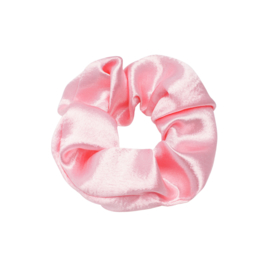 Scrunchie- Satijn 'baby pink'