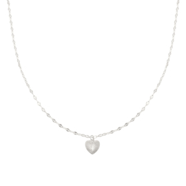 Ketting- Endless Love 'zilver'