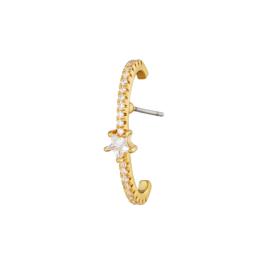 Ear cuff oorbel- Star 'goud'