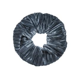 Scrunchie- Crushed Velvet 'blauw'