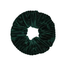 Scrunchie- Crushed Velvet 'groen'