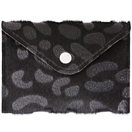 Portemonnee mini- Animal 'zwart'