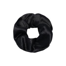 Scrunchie- Satijn 'zwart'