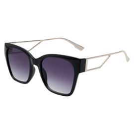 Zonnebril- Frame It 'zwart'