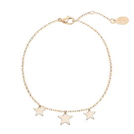 Armband- Triple Stars 'goud'