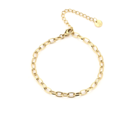 Armband- Chained 'goud'