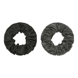 Scrunchie set 'zwart'