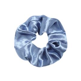 Scrunchie- Satijn 'lichtblauw'
