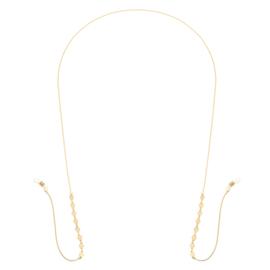 Zonnebril koord- Diamonds Forever 'goud'