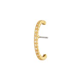 Ear cuff oorbel- Shimmer 'goud'
