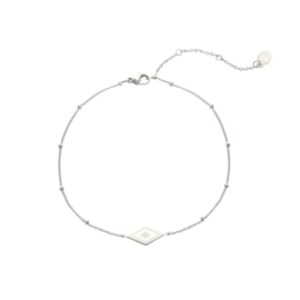 Armband- Sparkle On 'zilver'