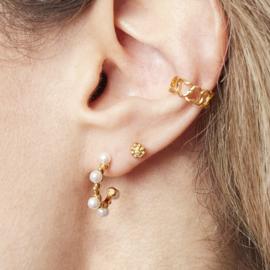Ear cuff- Ziggy 'goud'