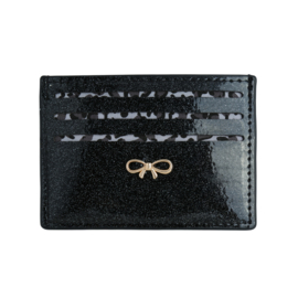 Pasjeshouder- Glitter 'zwart'