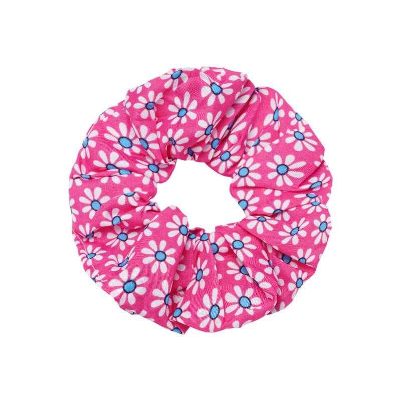 Scrunchie- Flora Colors 'roze'