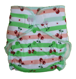 Fluffy Nature Bamboo Onesize Klett - Cherry