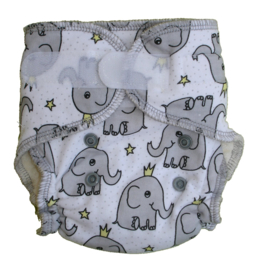 Fluffy Nature Bamboo Size S - Elephant