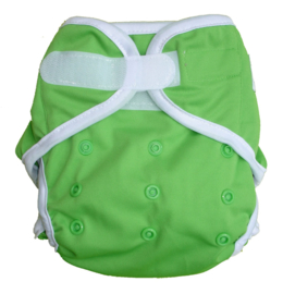 Fluffy Nature Überhose Klett Onesize (3,5-15kg) - Green