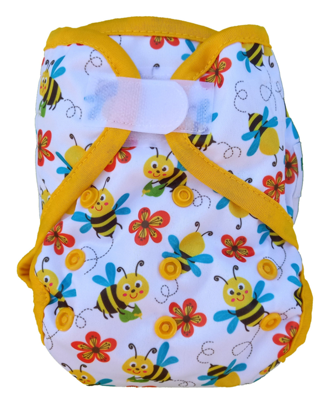 Fluffy Nature Newborn plus cover Bees (2,5-6,5 kg)