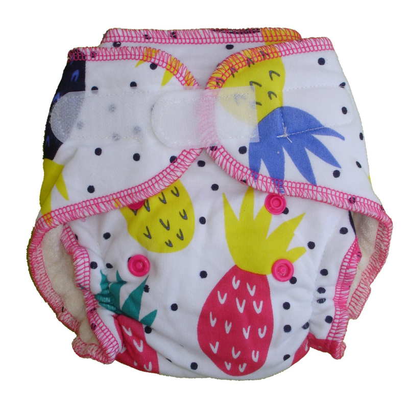 Fluffy Nature Bamboo Size S - Pineapple