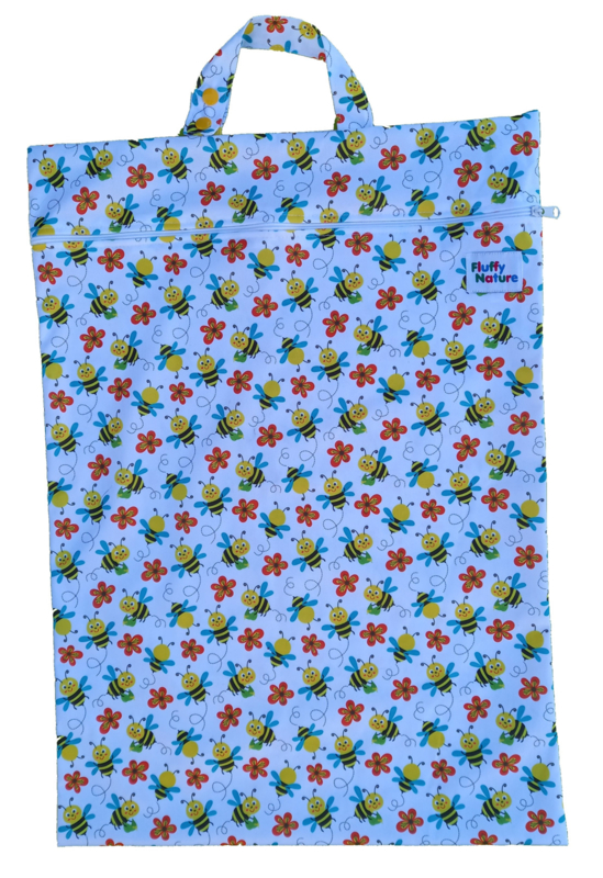 Fluffy Nature wetbag XL - Bees