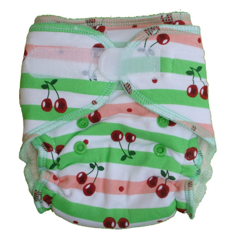Fluffy Nature Bamboo Size S - Cherry