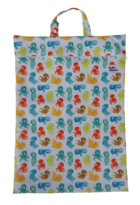 Fluffy Nature Wetbag XL - Colorful Octopus
