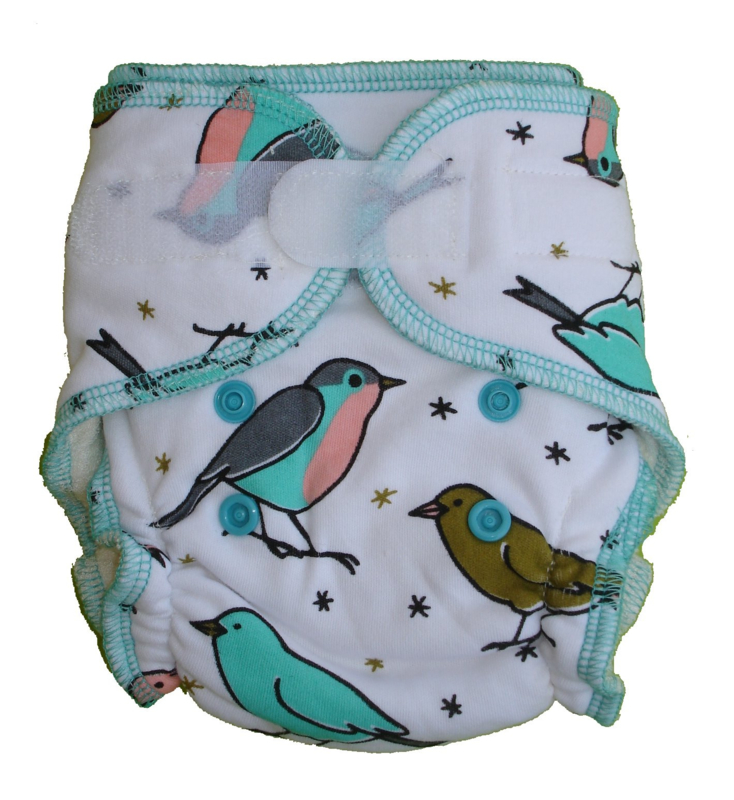 Fluffy Nature Bamboo Size S - Birds