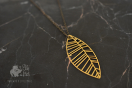 halsketting 'leaf'