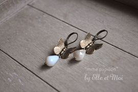 oorhangers 'mme papillon'