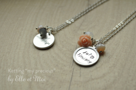 'My Precious' gepersonaliseerde kettingen