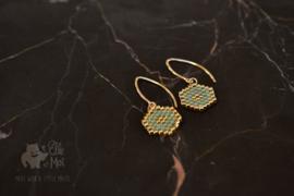 Oorhangers Perline 'Ella' • gold-filled •