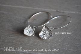 oorhangers 'poppy' • 925 Sterling zilver •