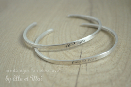 armbandje 'timeless love'