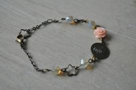 gepersonaliseerd armbandje  'my precious'    brons        • maatwerk •