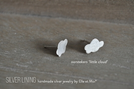 oorknopjes 'little clouds' • 925 Sterling zilver •