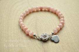 gepersonaliseerd armbandje 'fiora rosa'