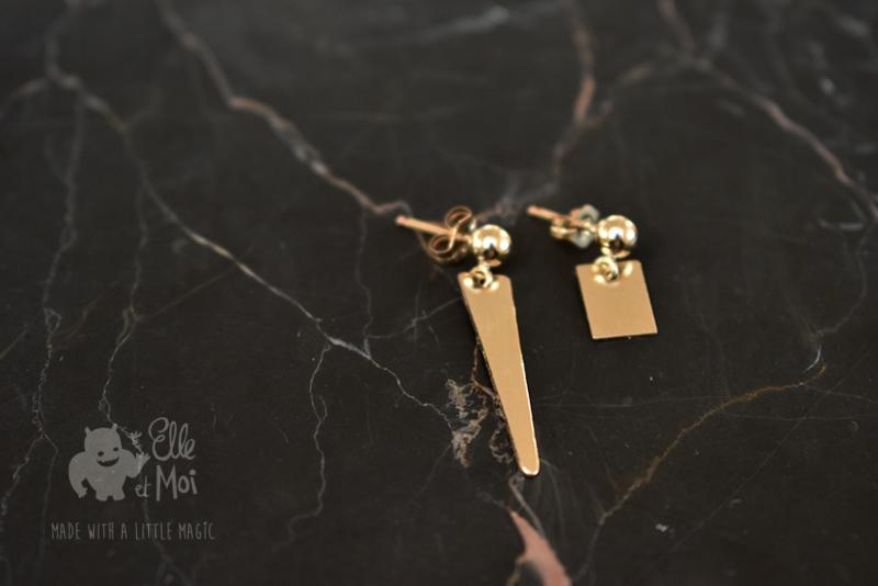 oorringen 'irregular' • gold-filled •